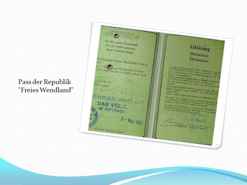 Pass der Republik Freies Wendland