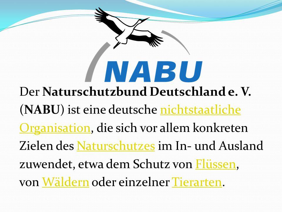 Der Naturschutzbund Deutschland e. V