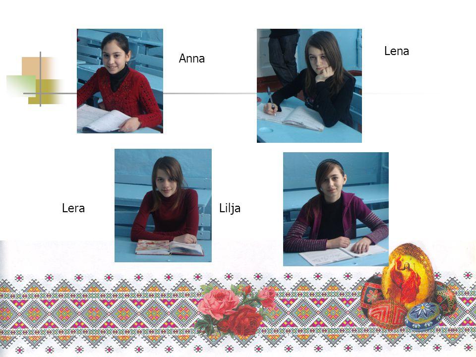 Lena Anna Lera Lilja