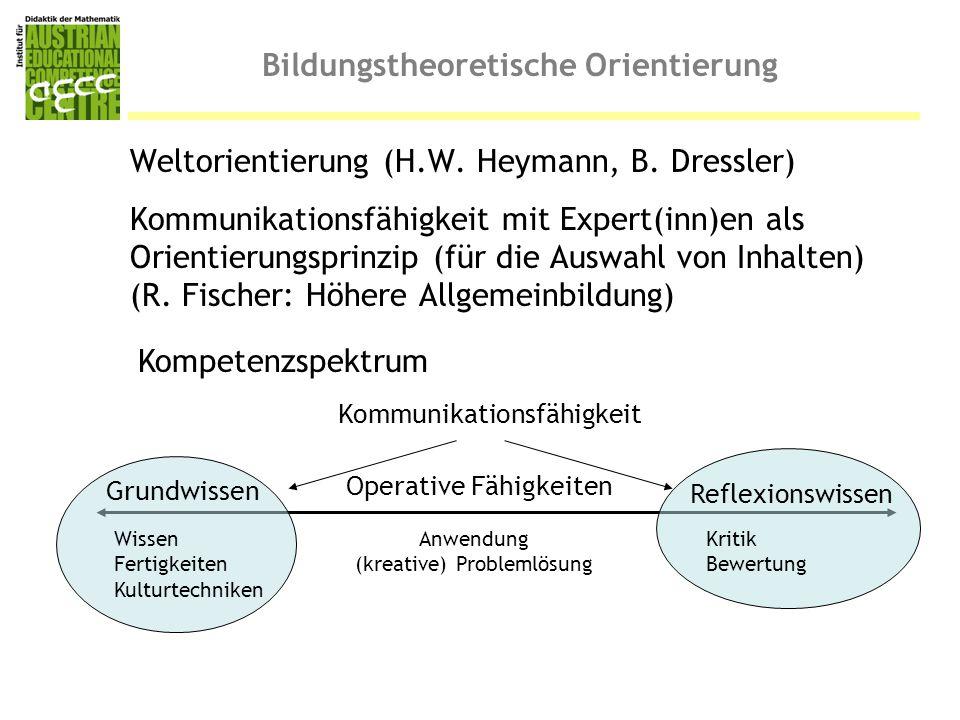 Bildungstheoretische Orientierung