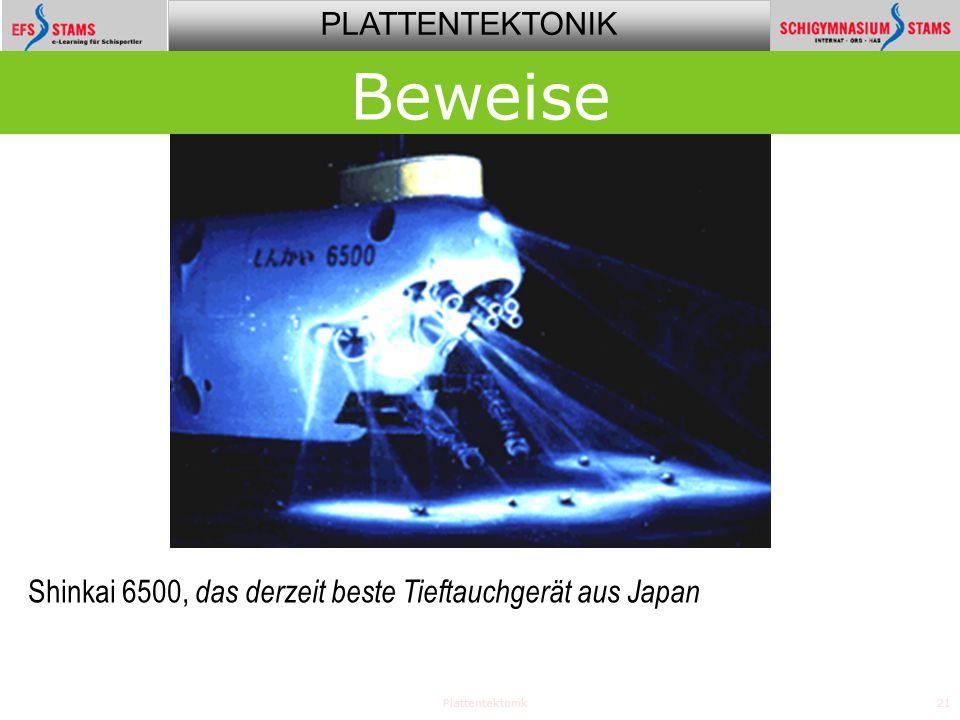 Beweise Shinkai 6500, das derzeit beste Tieftauchgerät aus Japan