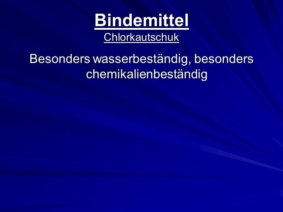 Bindemittel Chlorkautschuk