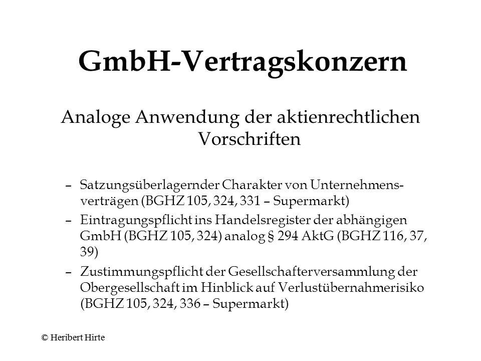 GmbH-Vertragskonzern