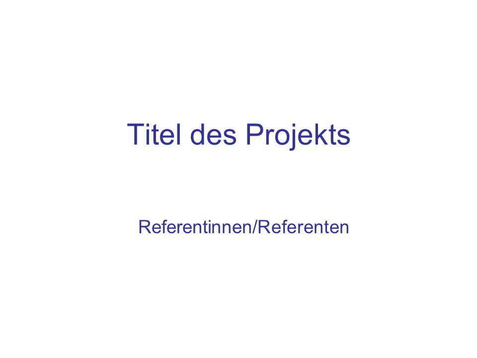 Referentinnen/Referenten