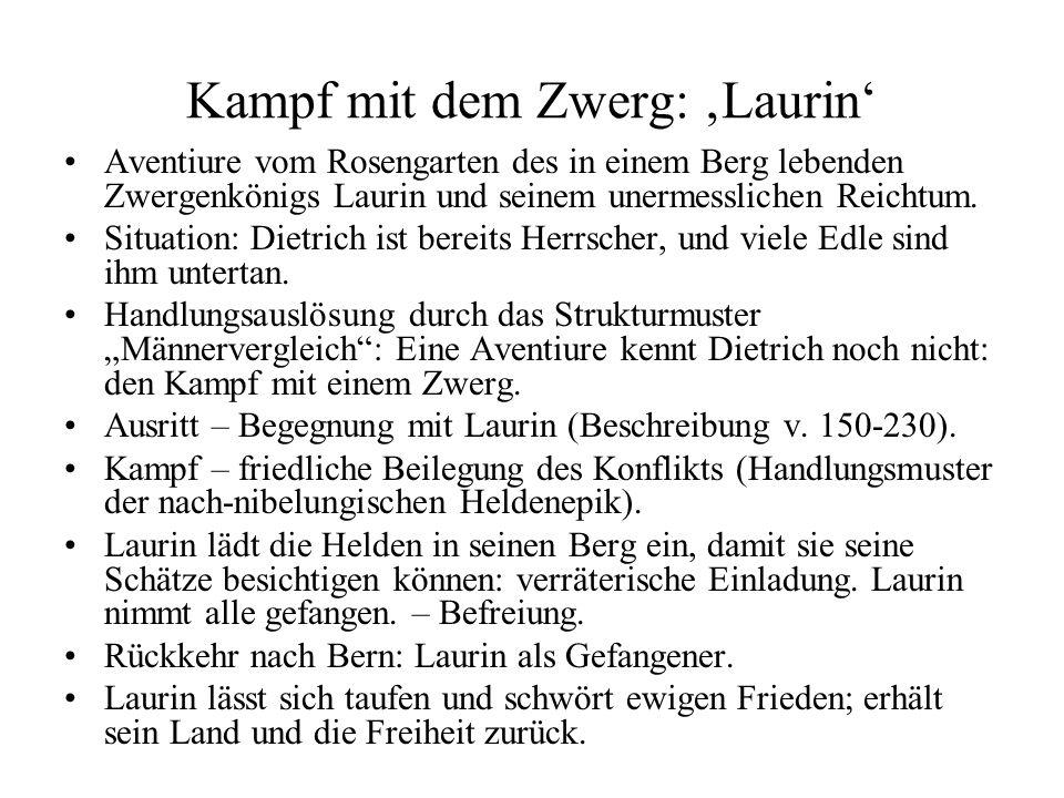 Kampf mit dem Zwerg: 'Laurin'