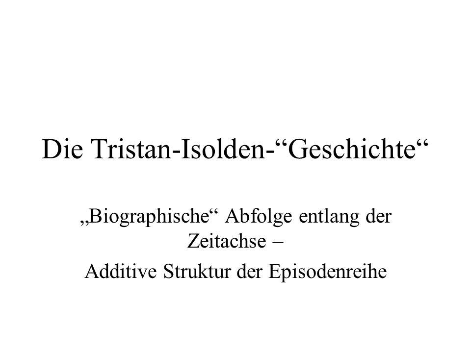 Die Tristan-Isolden- Geschichte