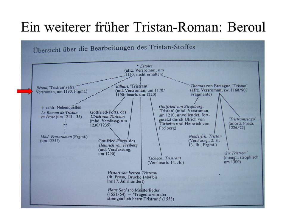 Ein weiterer früher Tristan-Roman: Beroul