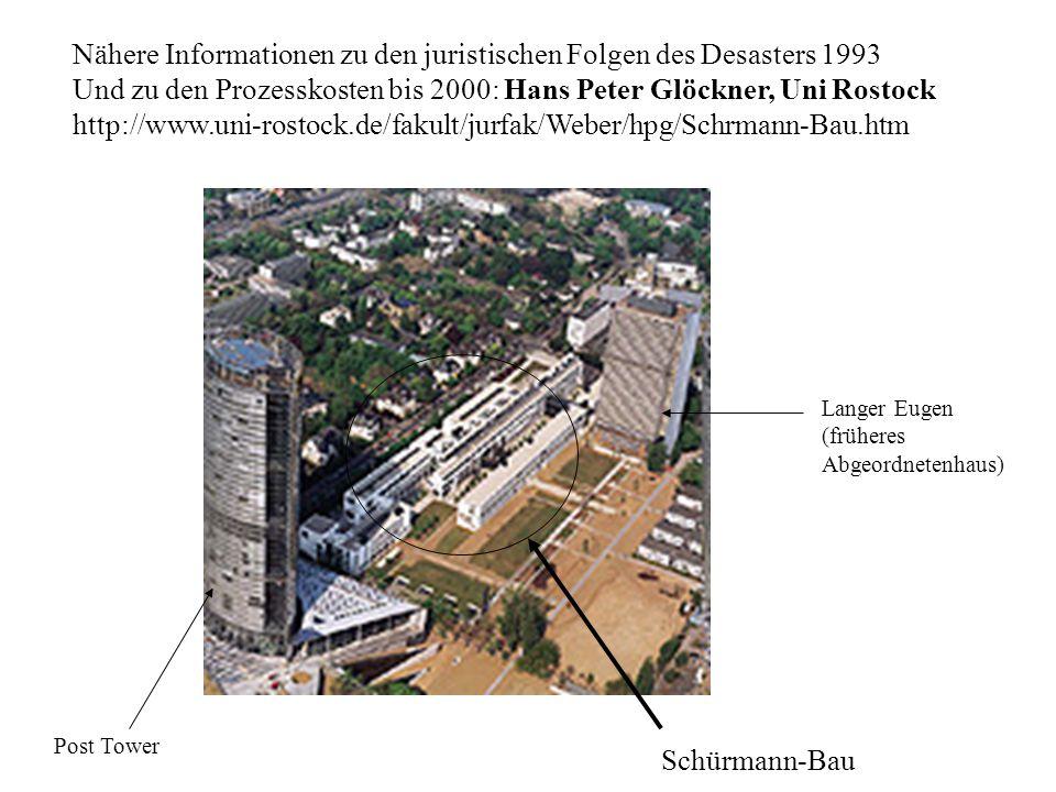 Nähere Informationen zu den juristischen Folgen des Desasters 1993