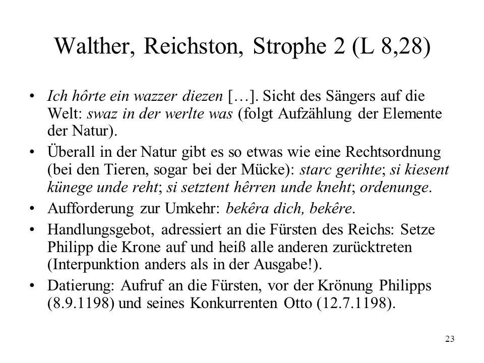 Walther, Reichston, Strophe 2 (L 8,28)