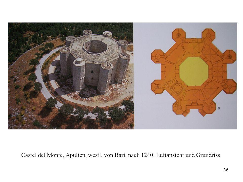 Castel del Monte, Apulien, westl. von Bari, nach 1240