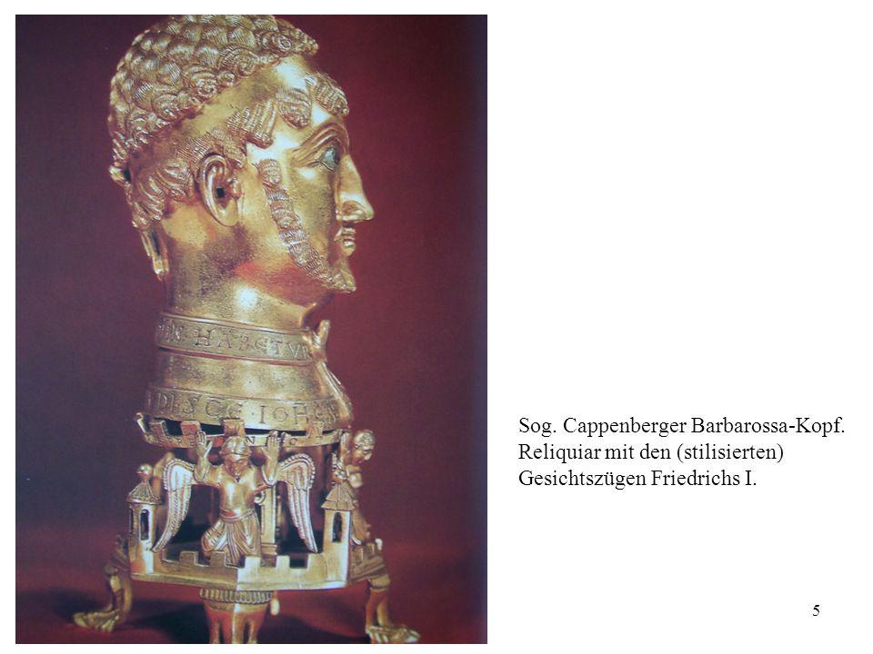 Sog. Cappenberger Barbarossa-Kopf.