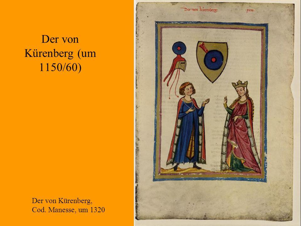Der von Kürenberg (um 1150/60)
