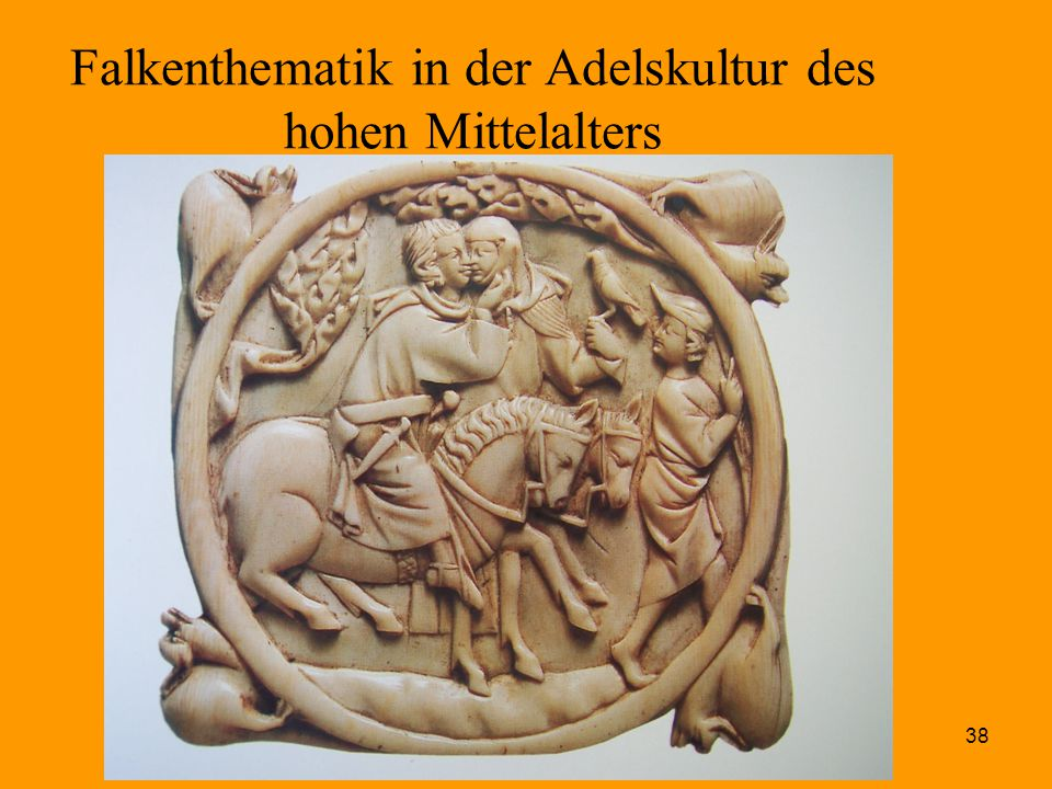Falkenthematik in der Adelskultur des hohen Mittelalters