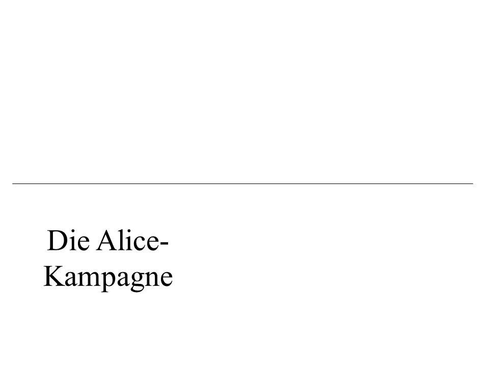 Die Alice-Kampagne