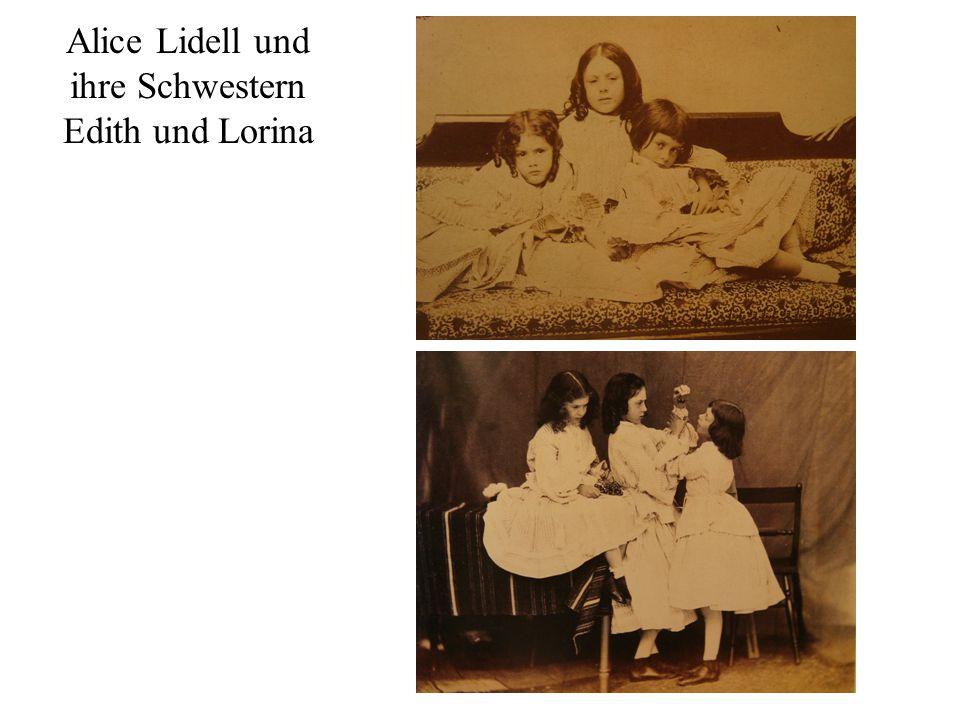 Alice Lidell und ihre Schwestern Edith und Lorina