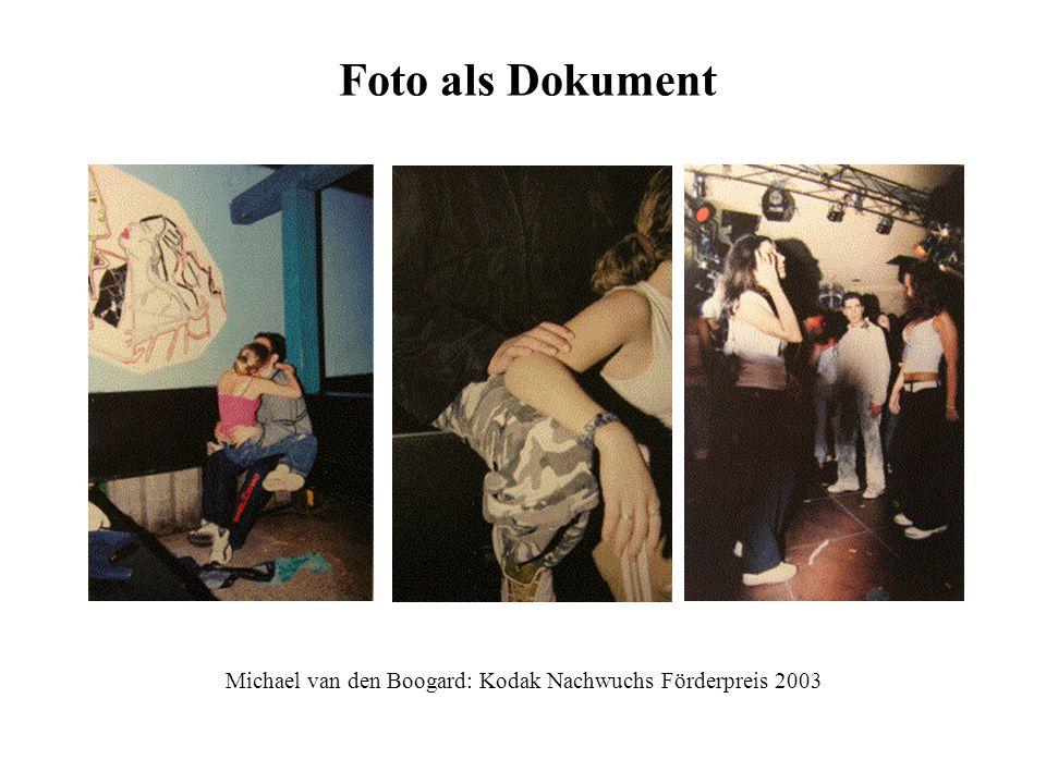 Michael van den Boogard: Kodak Nachwuchs Förderpreis 2003