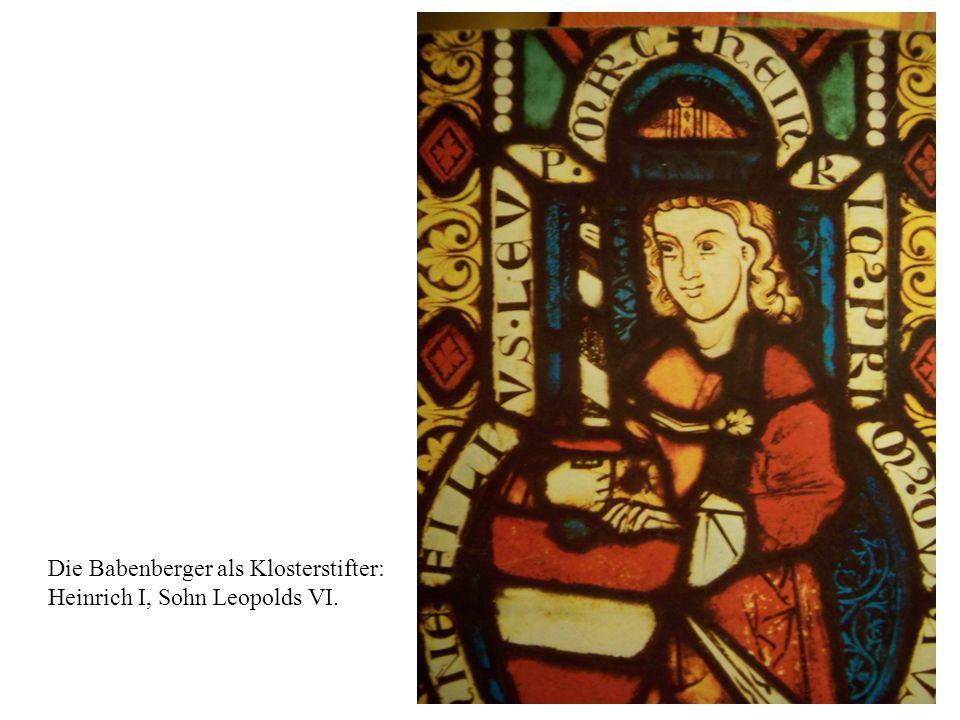 Die Babenberger als Klosterstifter: