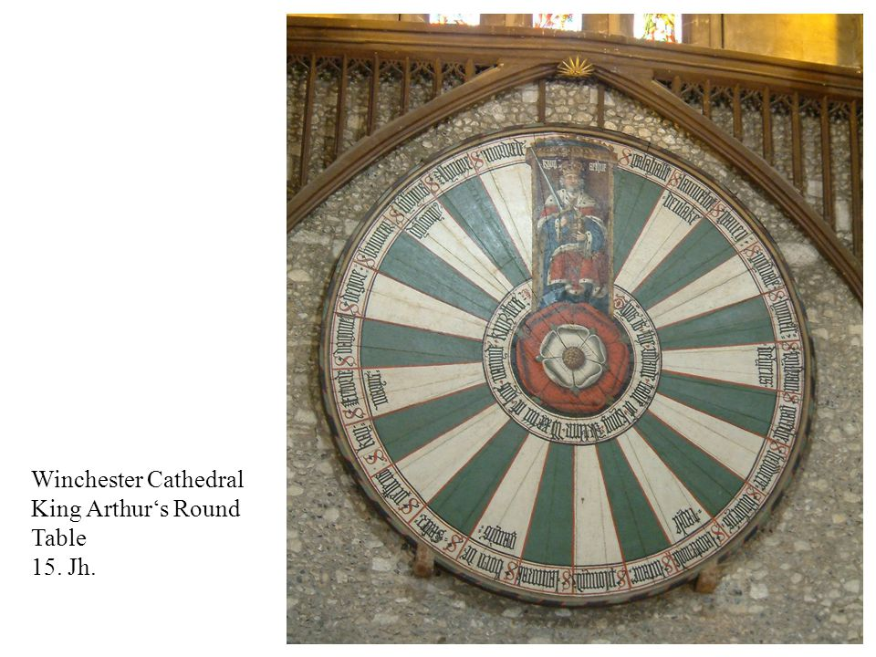 Winchester Cathedral King Arthur's Round Table 15. Jh.