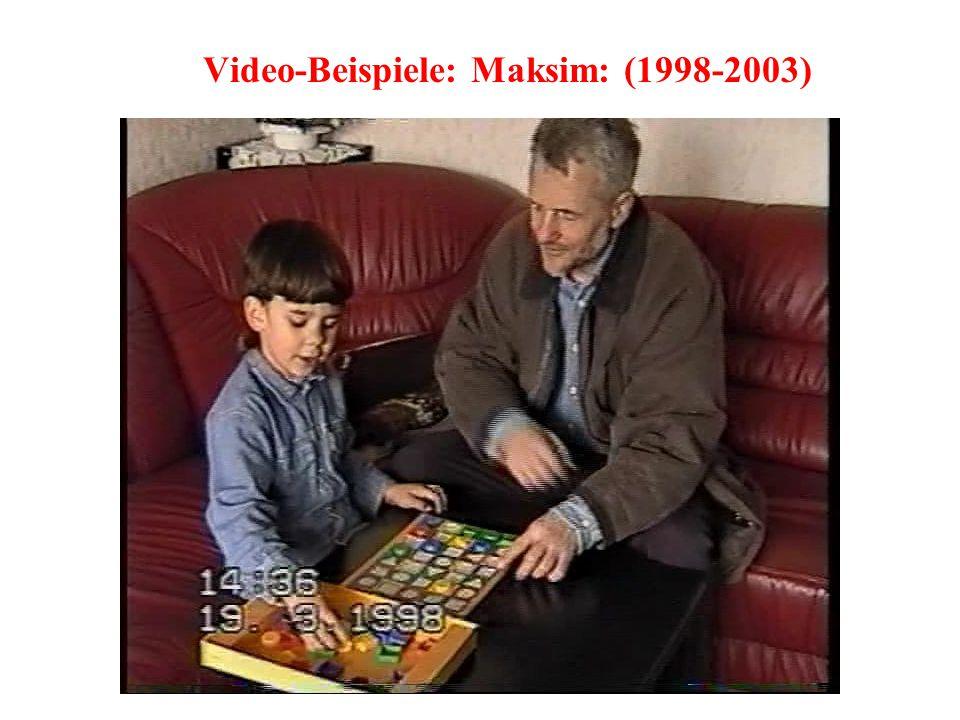 Video-Beispiele: Maksim: (1998-2003)
