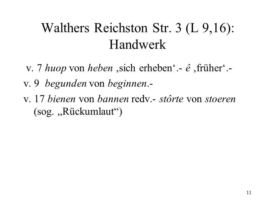 Walthers Reichston Str. 3 (L 9,16): Handwerk