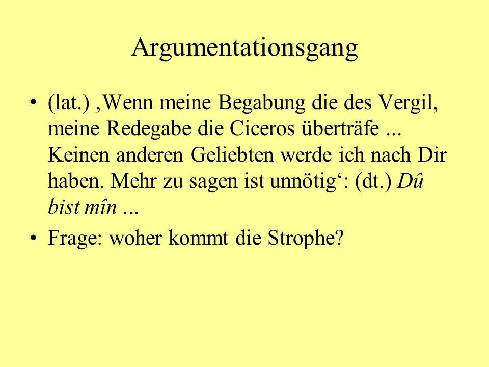 Argumentationsgang