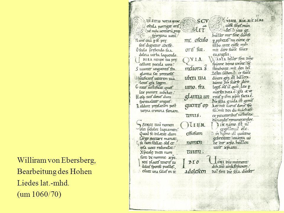 Williram von Ebersberg,