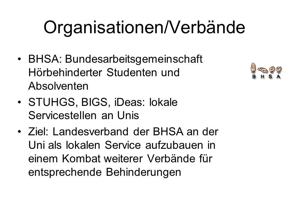 Organisationen/Verbände