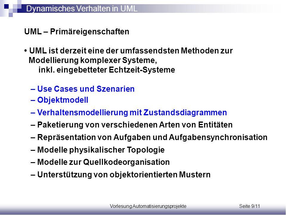 Vorlesung Automatisierungsprojekte Seite 9/11