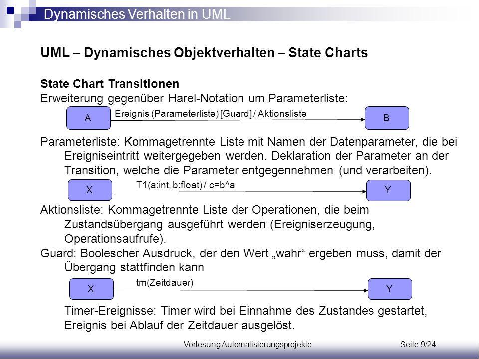 Vorlesung Automatisierungsprojekte Seite 9/24