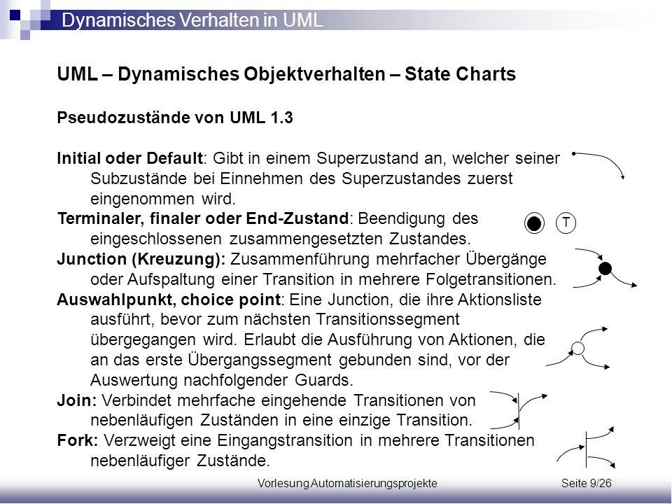 Vorlesung Automatisierungsprojekte Seite 9/26