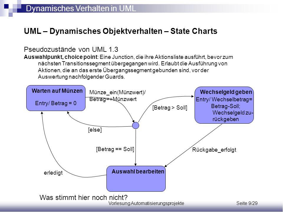 Vorlesung Automatisierungsprojekte Seite 9/29