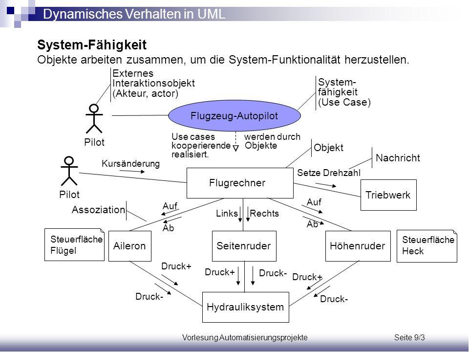 Vorlesung Automatisierungsprojekte Seite 9/3