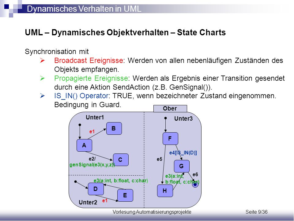 Vorlesung Automatisierungsprojekte Seite 9/36