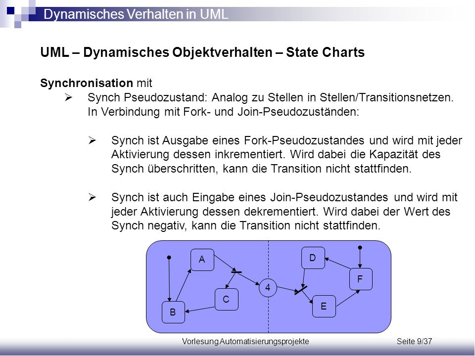 Vorlesung Automatisierungsprojekte Seite 9/37