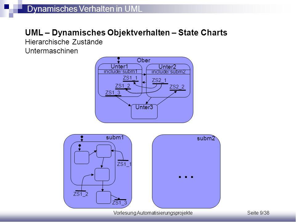 Vorlesung Automatisierungsprojekte Seite 9/38