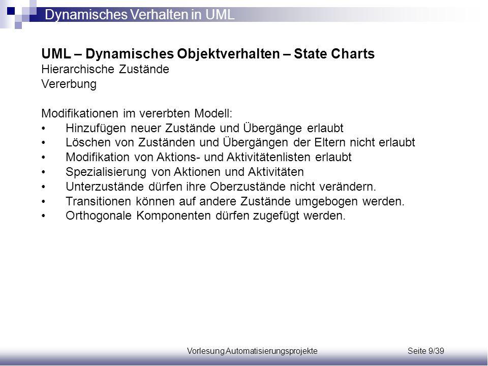Vorlesung Automatisierungsprojekte Seite 9/39