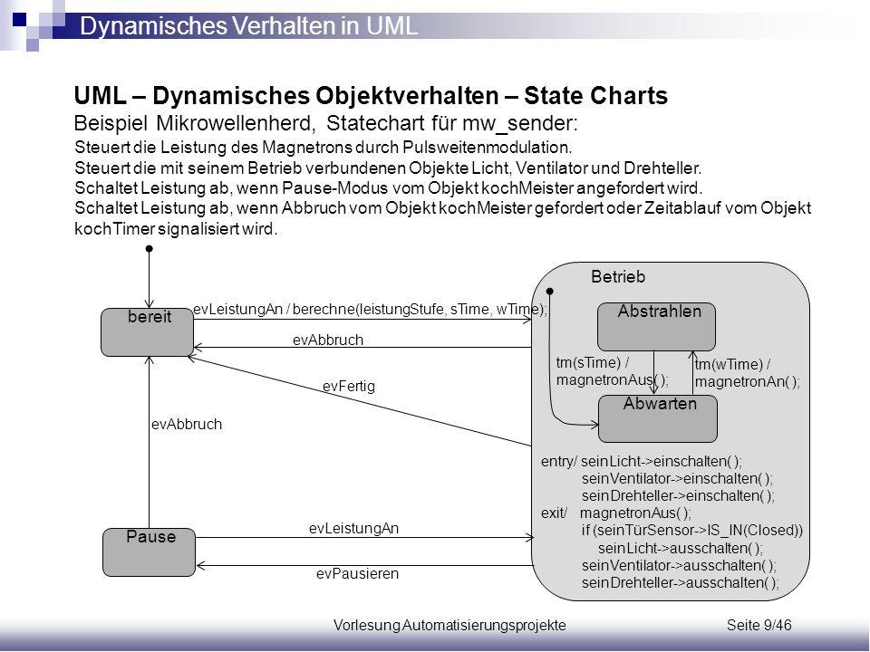 Vorlesung Automatisierungsprojekte Seite 9/46