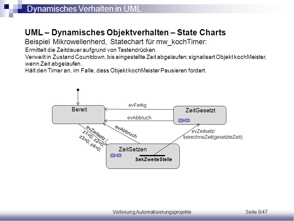 Vorlesung Automatisierungsprojekte Seite 9/47