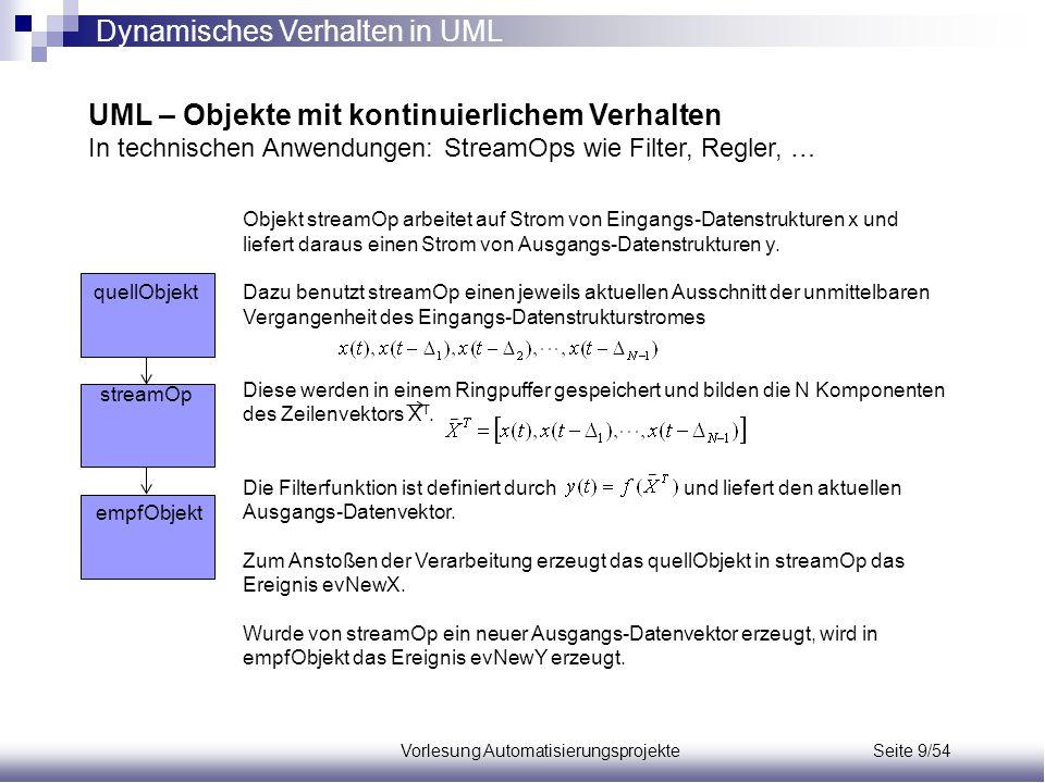 Vorlesung Automatisierungsprojekte Seite 9/54