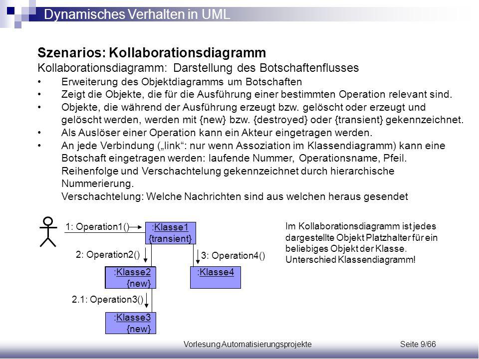 Vorlesung Automatisierungsprojekte Seite 9/66
