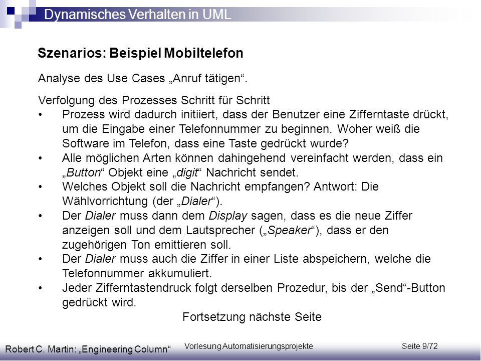 Vorlesung Automatisierungsprojekte Seite 9/72