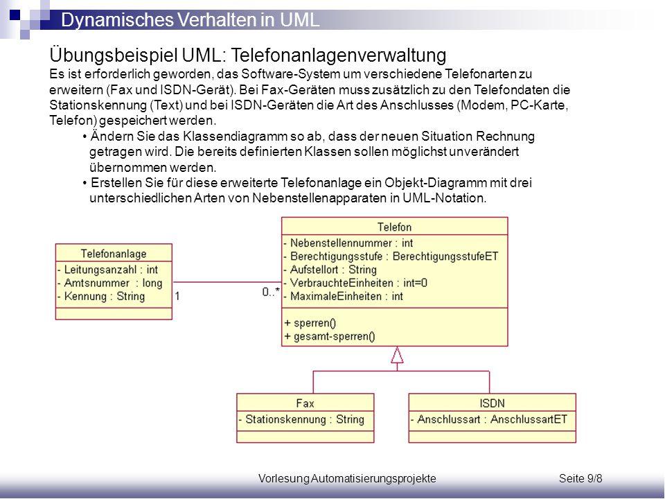 Vorlesung Automatisierungsprojekte Seite 9/8