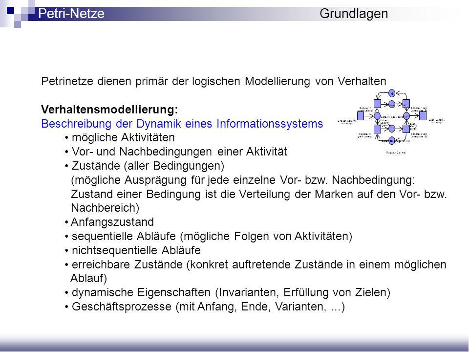 Petri-Netze Grundlagen