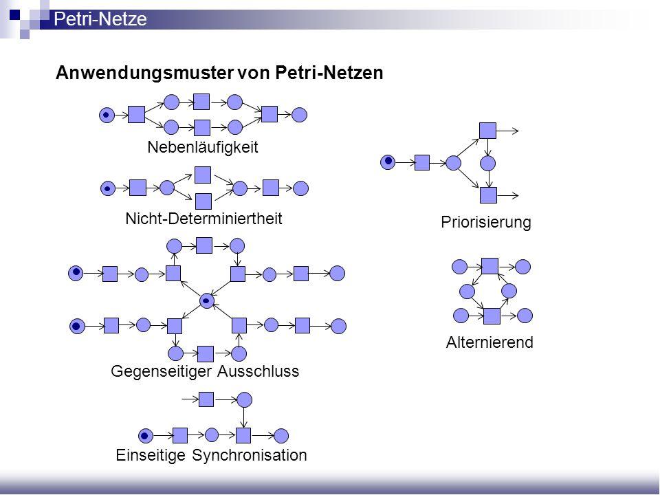 Anwendungsmuster von Petri-Netzen