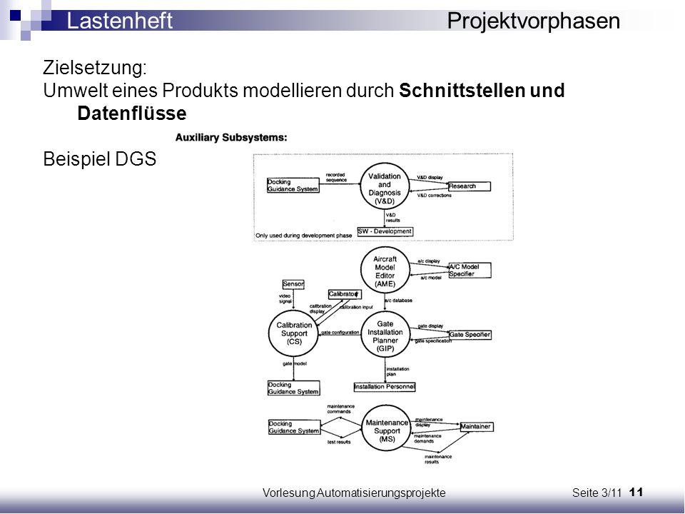 Vorlesung Automatisierungsprojekte Seite 3/11
