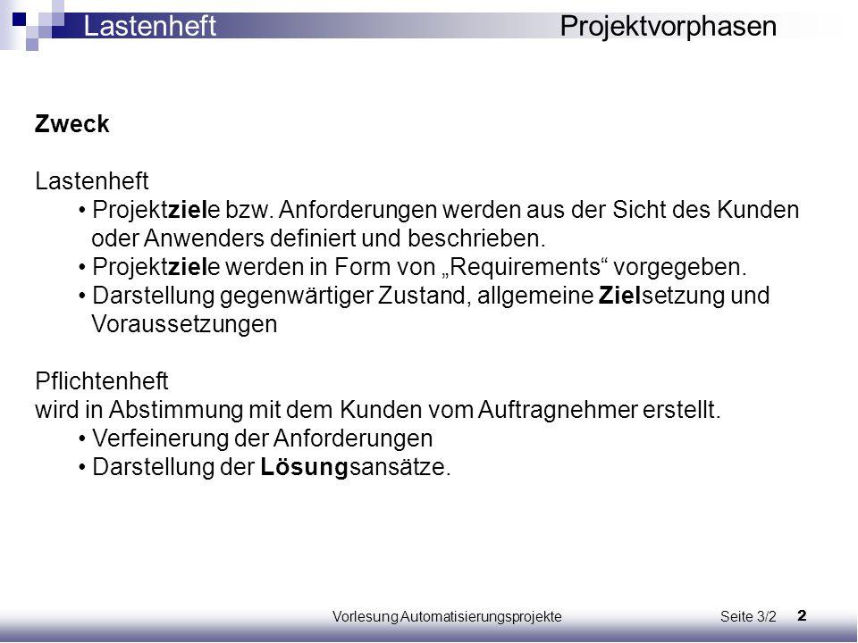 Vorlesung Automatisierungsprojekte Seite 3/2