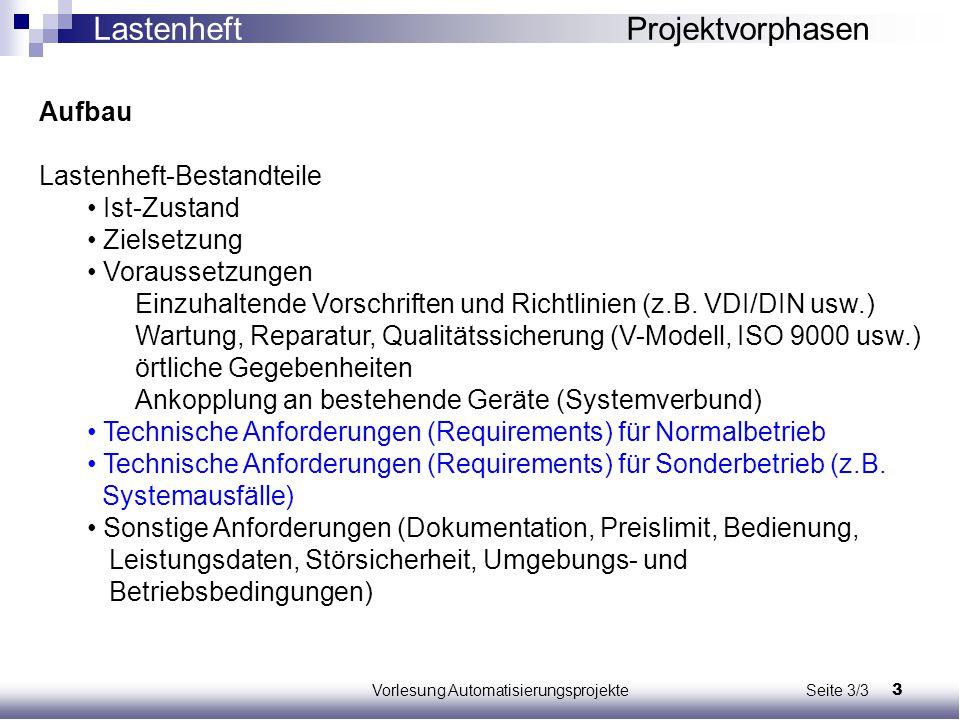 Vorlesung Automatisierungsprojekte Seite 3/3