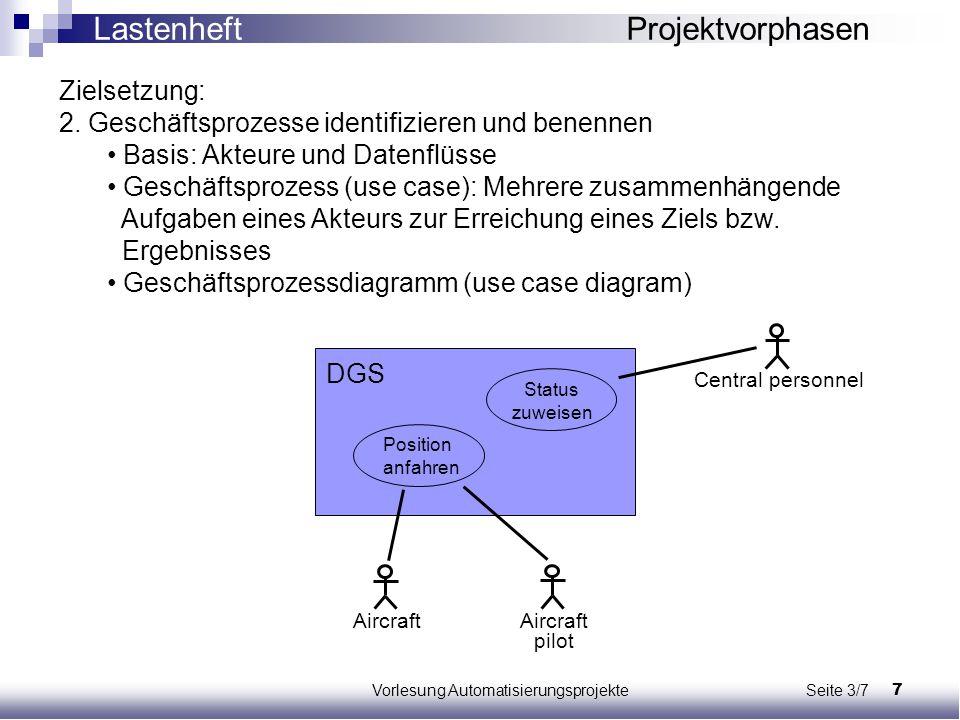 Vorlesung Automatisierungsprojekte Seite 3/7