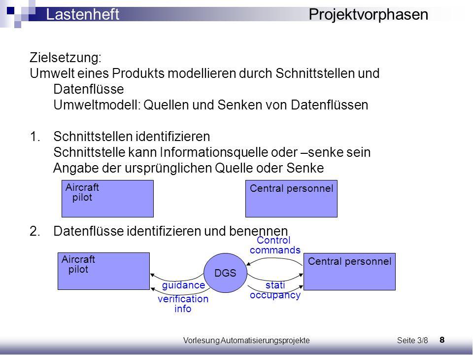 Vorlesung Automatisierungsprojekte Seite 3/8