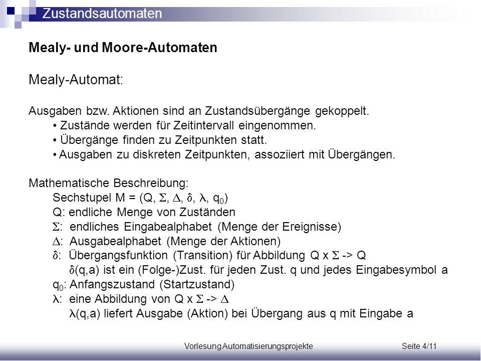 Vorlesung Automatisierungsprojekte Seite 4/11